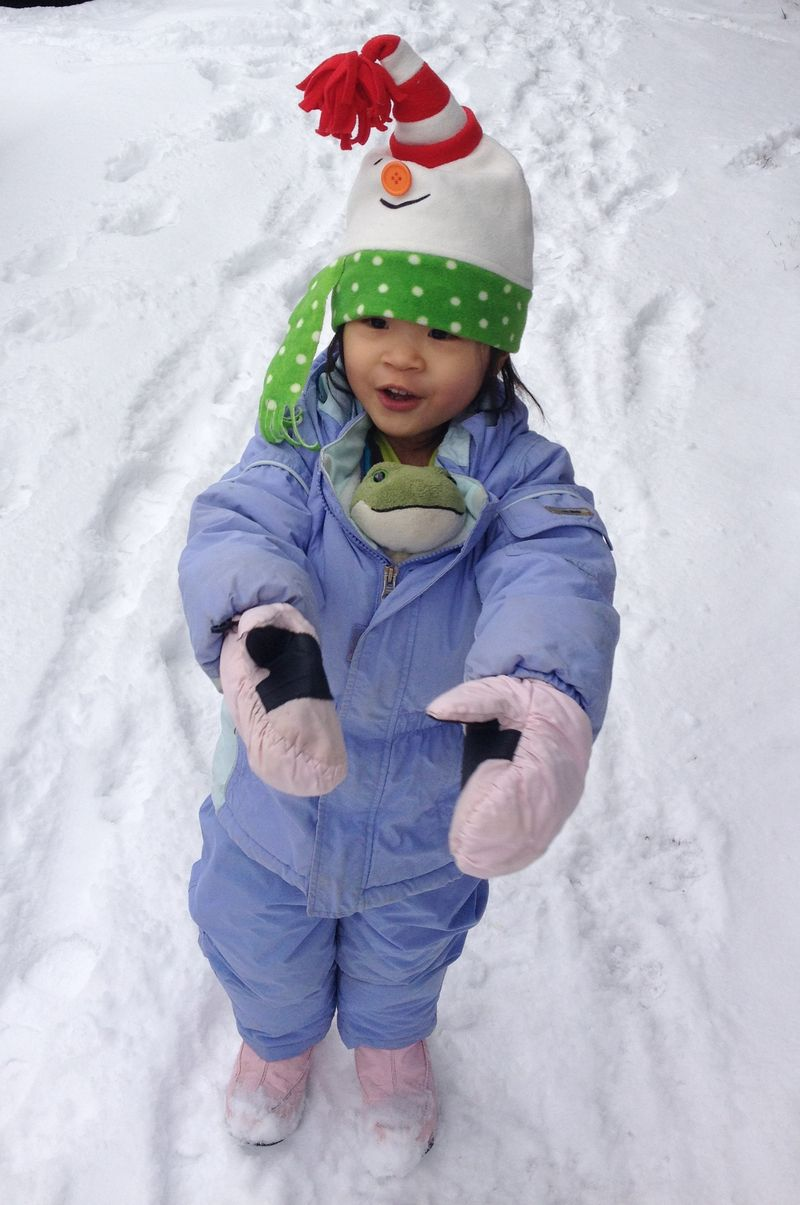 Snowwithfrog